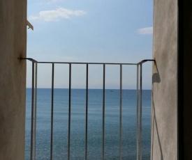 Balcone sulla spiaggia